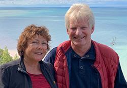 Inge und Heinz über uns 250