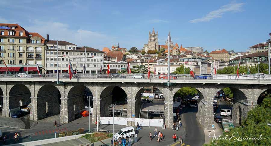 Lausanne – schöne steile Stadt 2