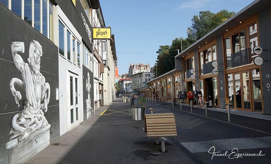 Lausanne – schöne steile Stadt 16