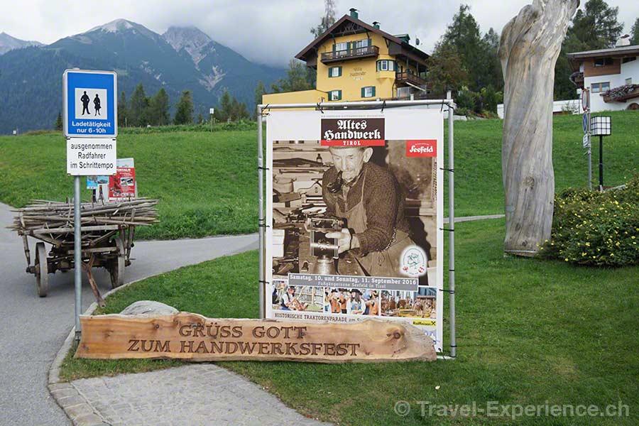 Seefeld Tirol Handwerksmarkt