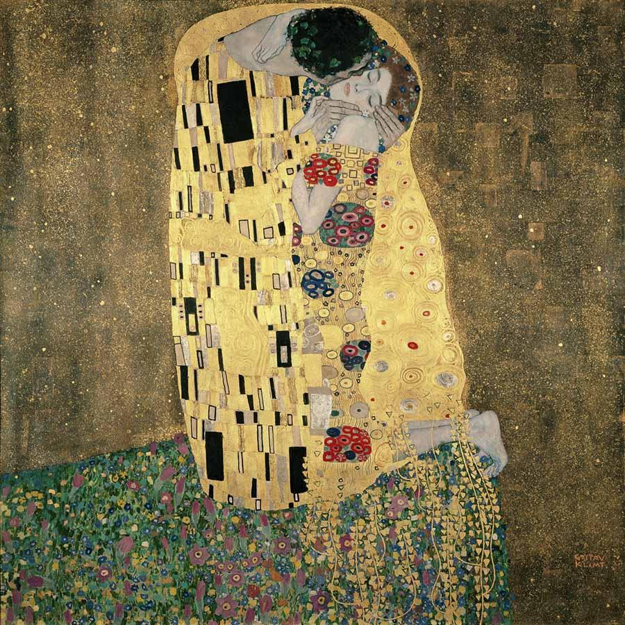 Klimts Kuss
