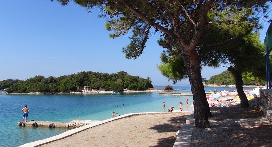 Albanien, Strand bei Saranda