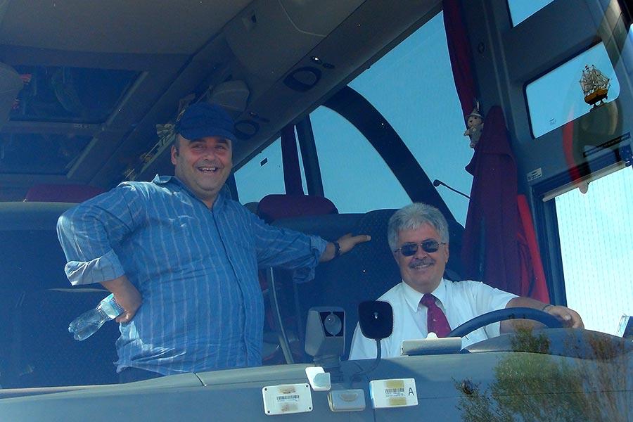 Beni und Juerg, Guide und Fahrer