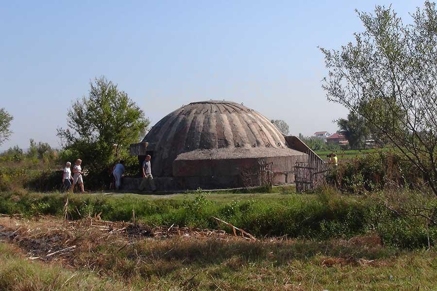 Albanien, Bunker