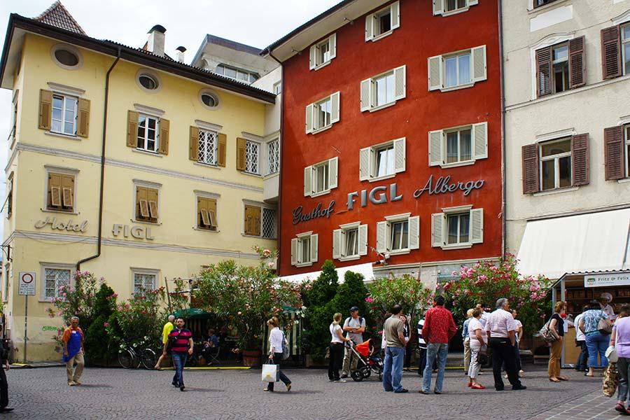 Bozen, Hotel Figl