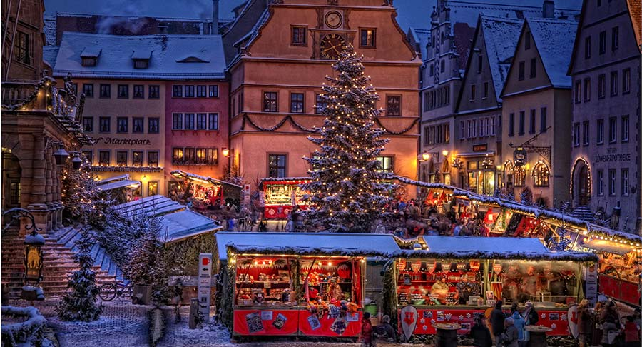 Rothenburg ob der Tauber: Ein Wintermärchen 2