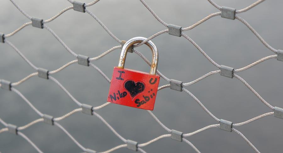 Salzburg: Liebesschlösser für jedermann 2
