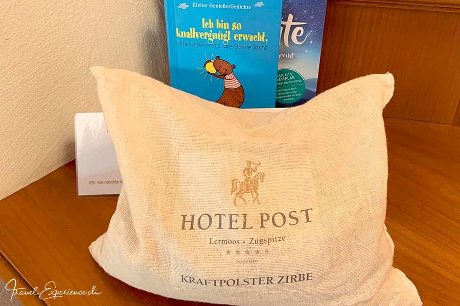 Hotel Post Lermoos, Zirbenkissen