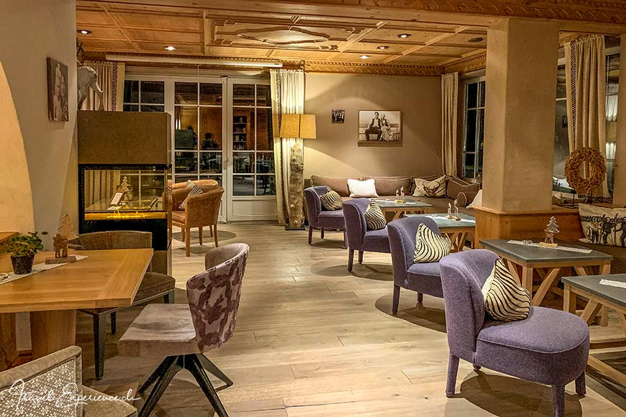 Hotel Hohenfels, Tannheim, Lounge