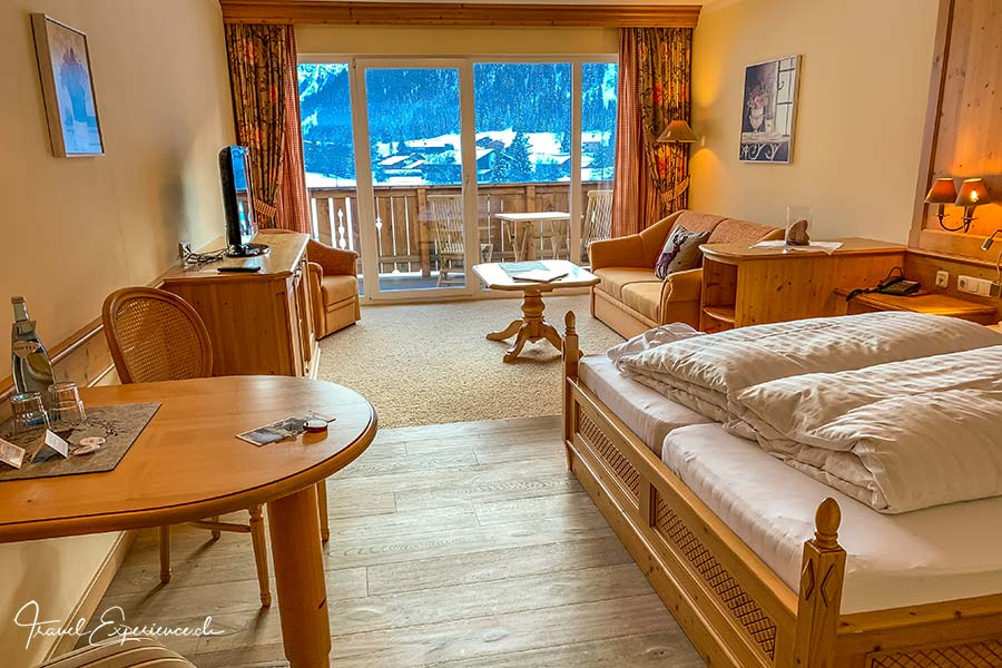 Hotel Hohenfels, Tannheim, Zimmer
