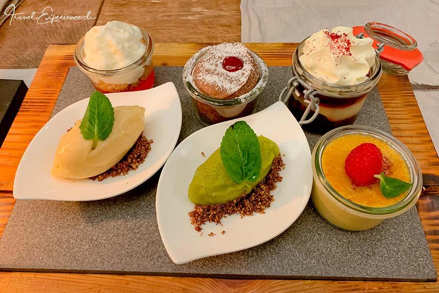 Boutiquehotel Matthiol, Zermatt, Dessert