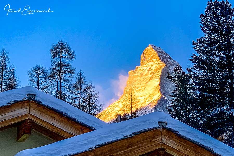 Boutiquehotel Matthiol, Zermatt, Matterhorn
