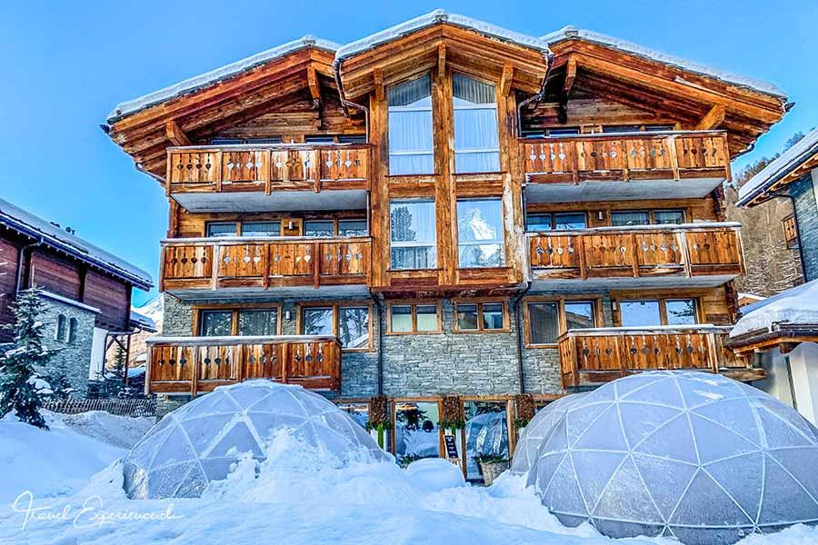 Boutiquehotel Matthiol, Zermatt, Fonduepavillons