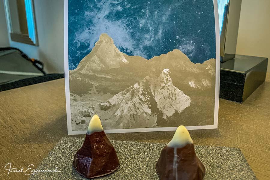 Boutiquehotel Matthiol, Zermatt, Schoko-Matterhorn
