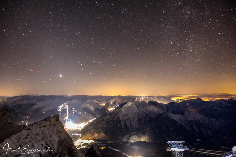 Bergwelt von der Zugspitze aus gesehen Foto von Heinz Jucker