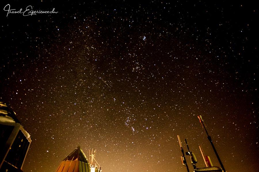 Sternenhimmel über der Zugspitze