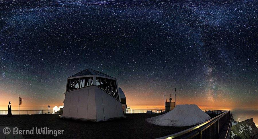 Lermoos / Zugspitze: Berge unter Sternen 2