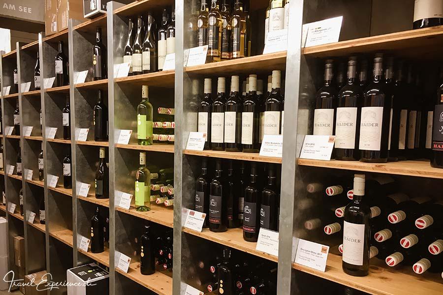 Burgenland, Weinregal, Weinwerk