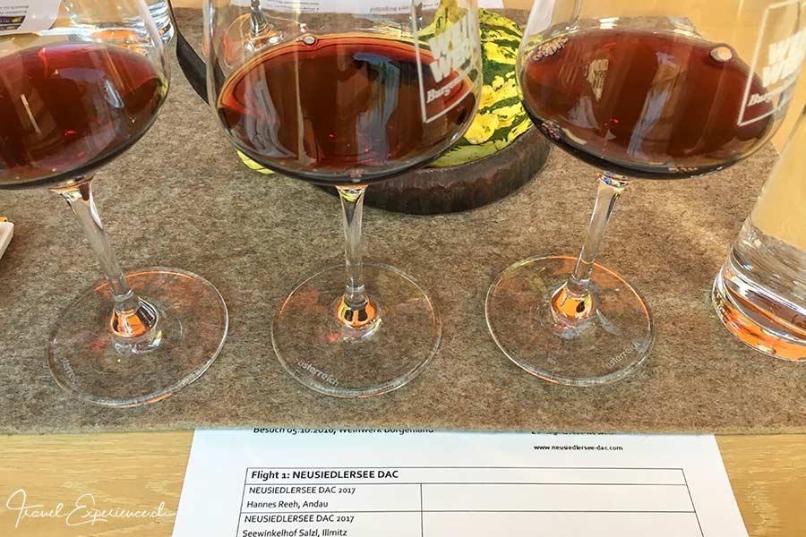 Burgenland, Weinverkostung, Weinwerk