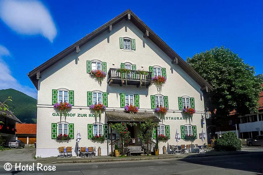 Hote Rose, Oberammergau