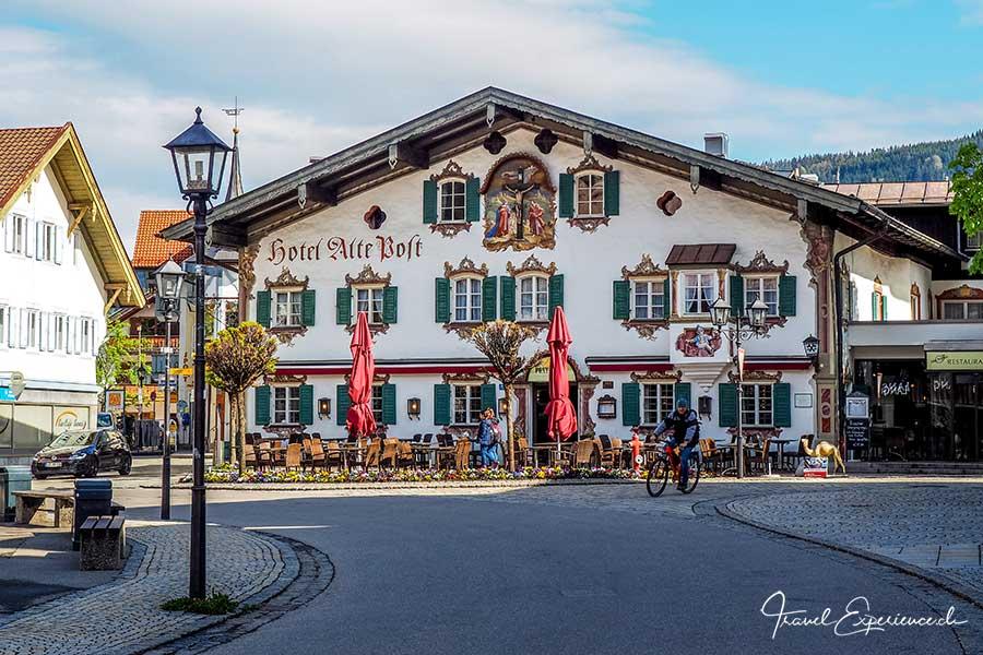 Oberammergau, Lüftlmalerei