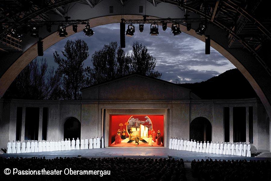 Oberammergau, Passionstheater, Bühne