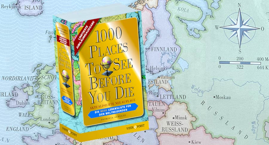 1000 places to see before you die, Buchtipp