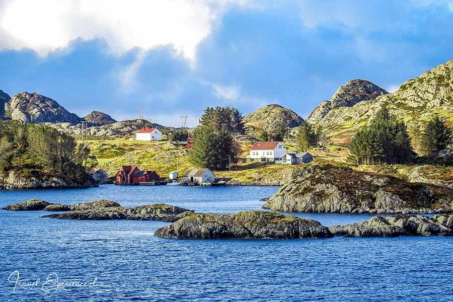 Landschaft nördlich von Bergen