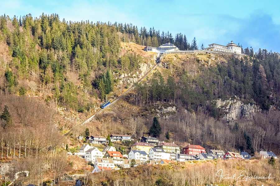 Bergen, Floyen, Bahn
