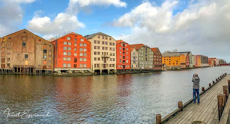 Trondheim, Lagerhäuser