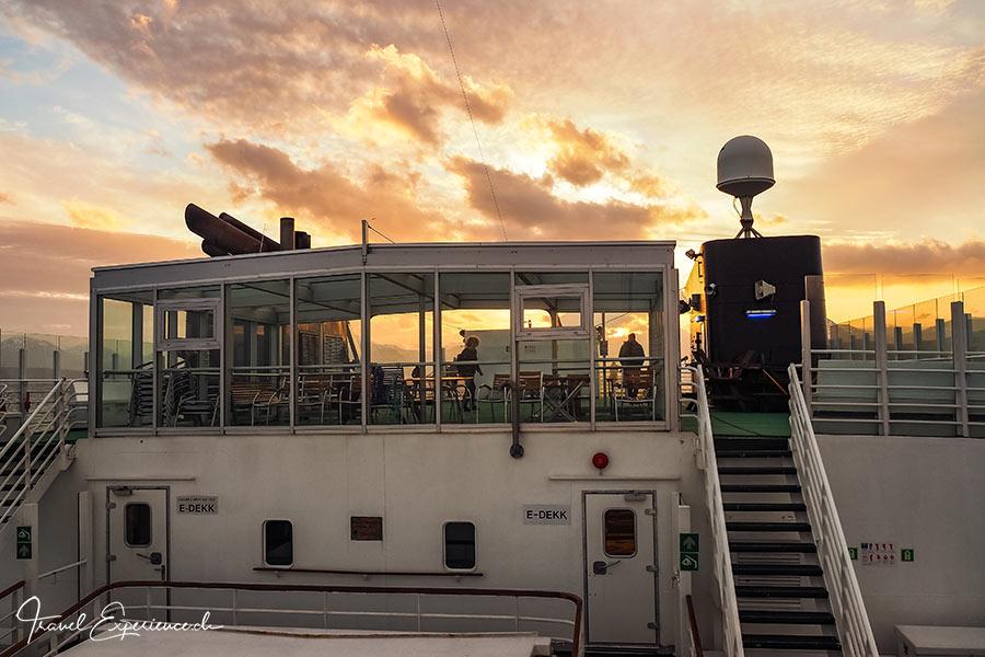 MS Vesteralen, Hurtigruten, Sonnendeck