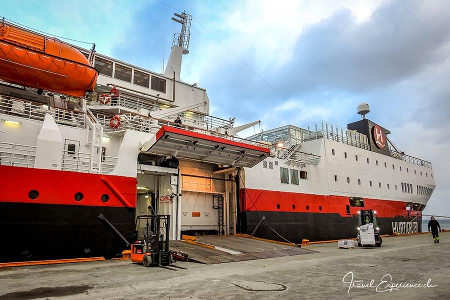 MS Vesteralen, Hurtigruten, Trondheim