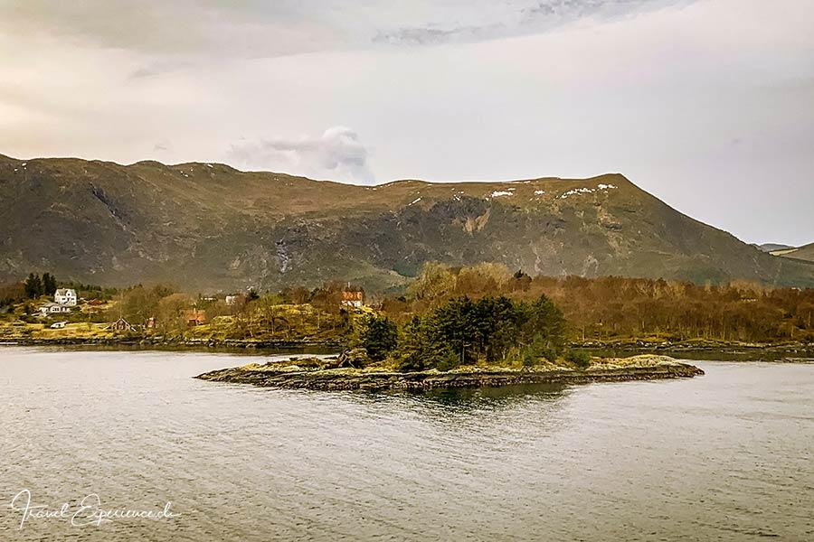Postschiffreise, Hurtigruten, zwischen Bergen und Alesund
