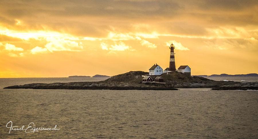 Bodo, Leuchtturm, Sonnenuntergang