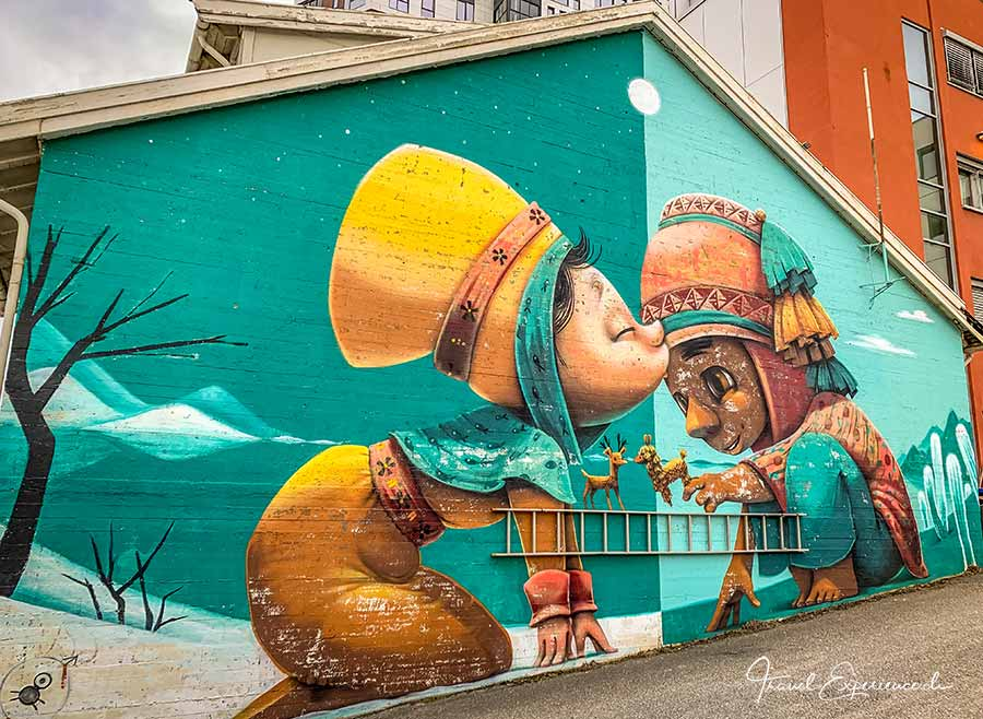 Bodo, Steetart, Mural