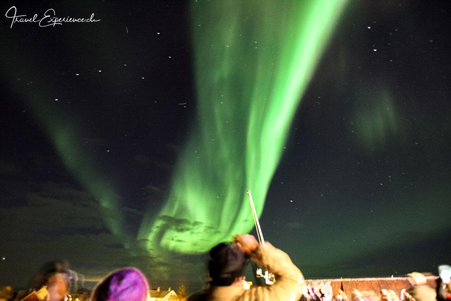 Stamsund, Nordlicht