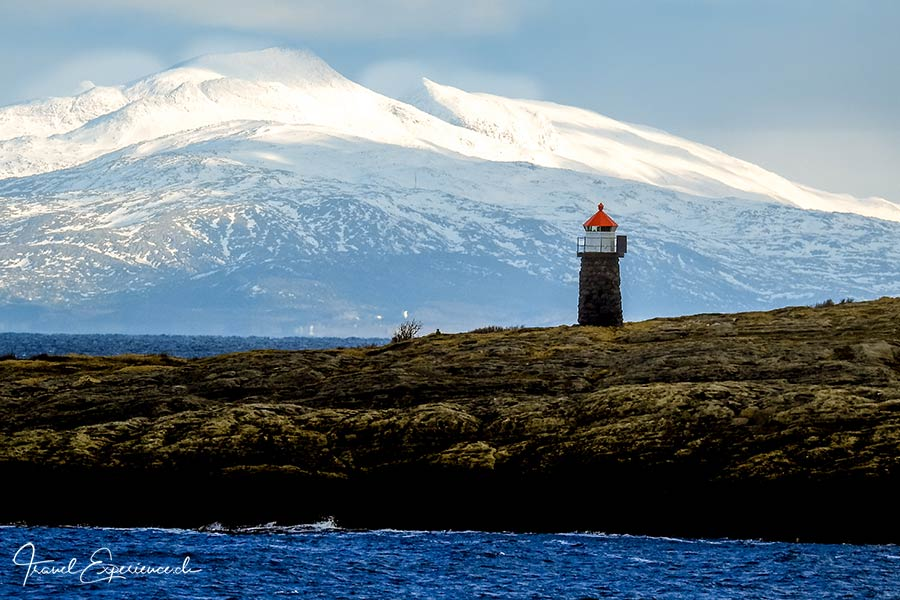Postschiffreise, Hurtigruten, Leuchtturm