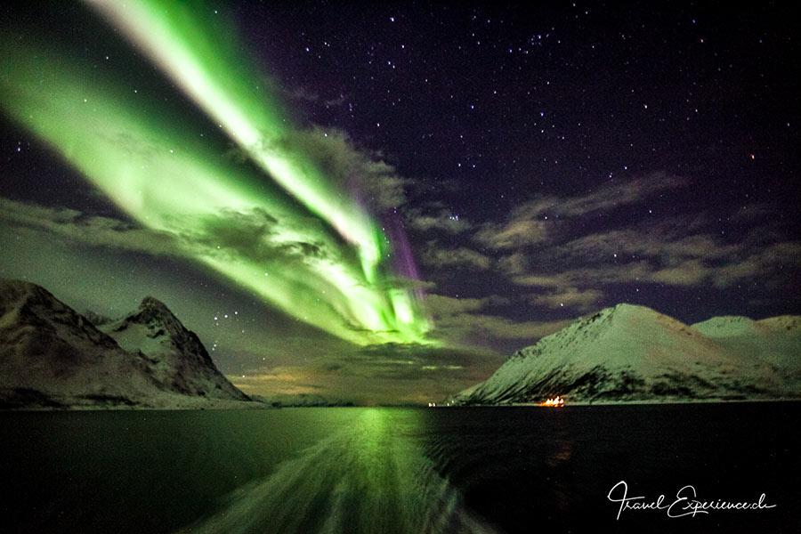 Postschiffreise, Hurtigruten, Nordlicht, Aurora Borealis