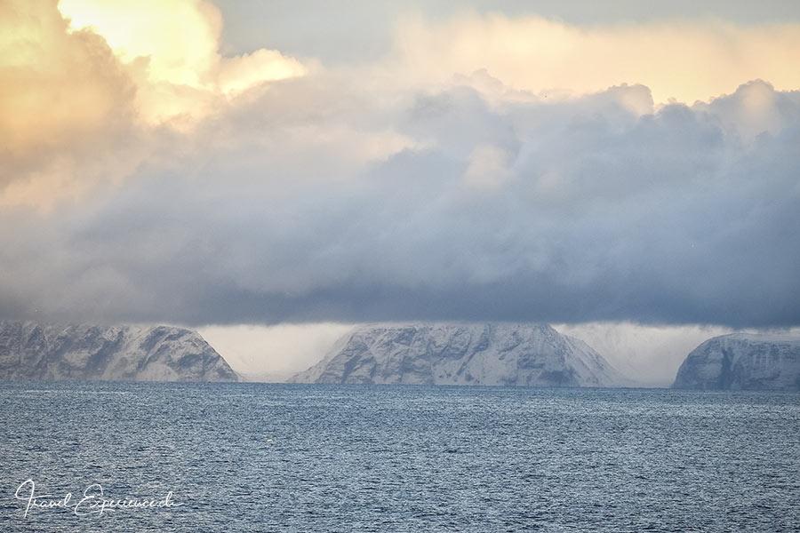 Postschiffreise, Hurtigruten, Honningsvag