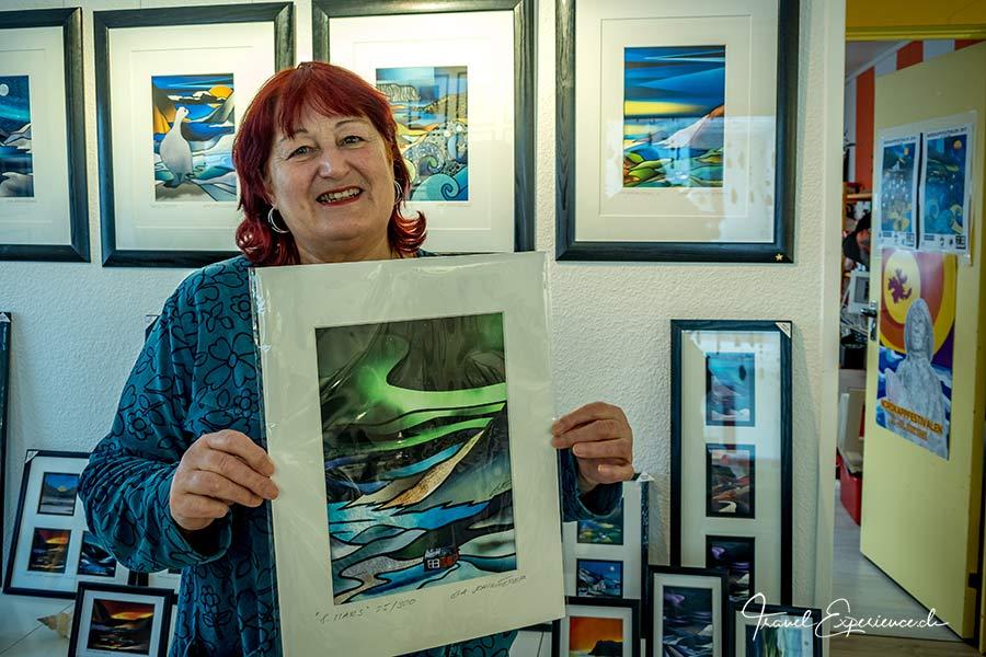 Eva Schmutterer, Galerie Evart, Kamoyvaer, Nordkap