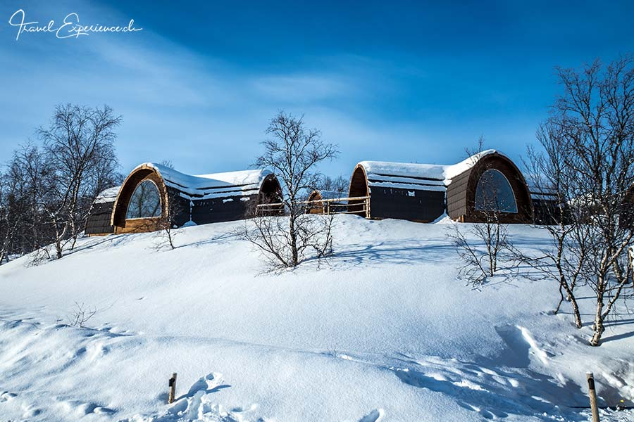 Kirkenes, Snowhotel, Holzhütten