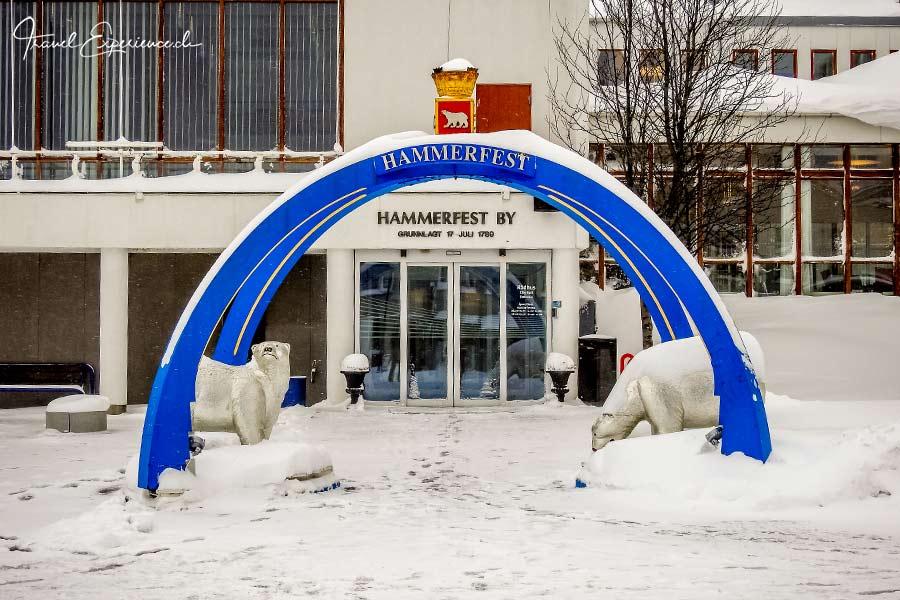Hammerfest, Rathaus,