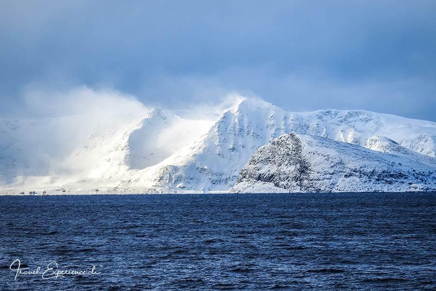 Postschiffreise, Hurtigruten, bei Hammerfest