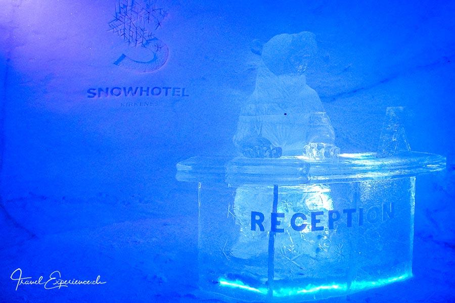 Kirkenes, Snowhotel, Reception