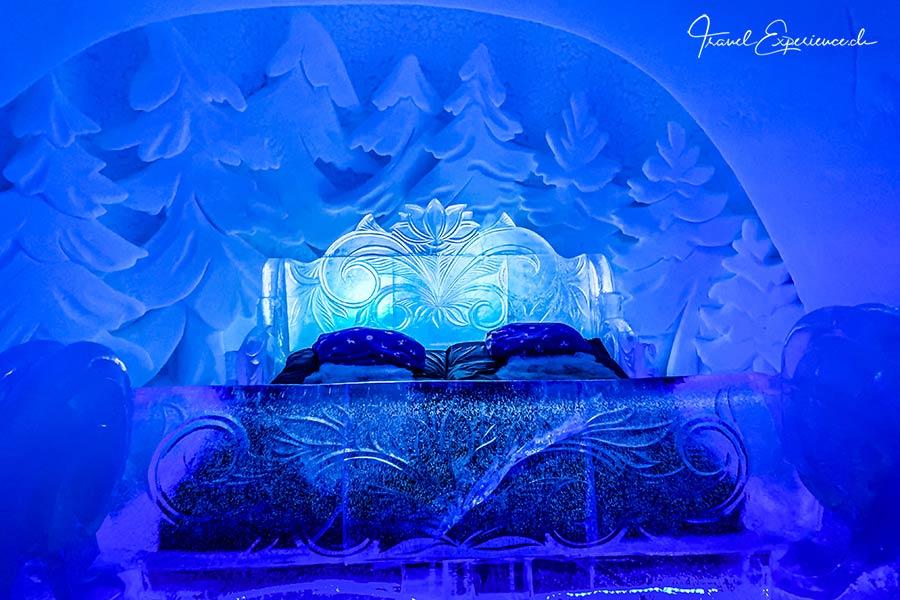 Kirkenes, Snowhotel, Schlafzimmer