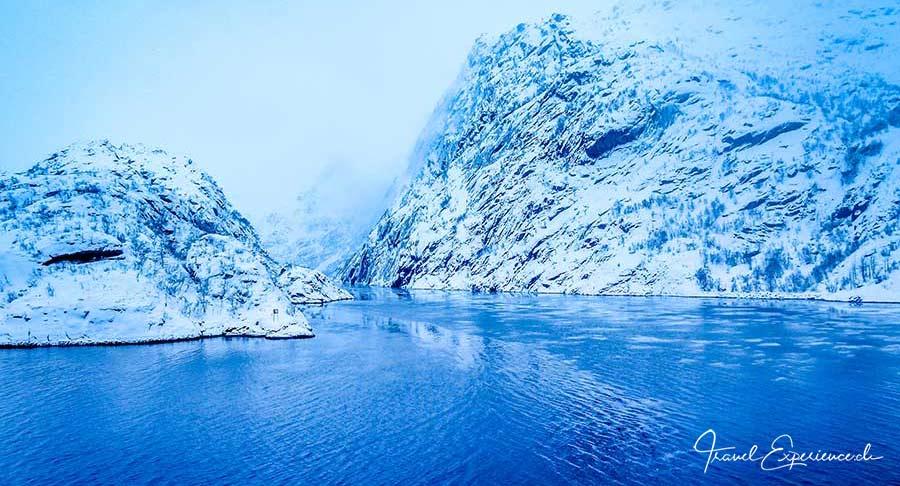 Hurtigruten, Postschiff, Trollfjorden