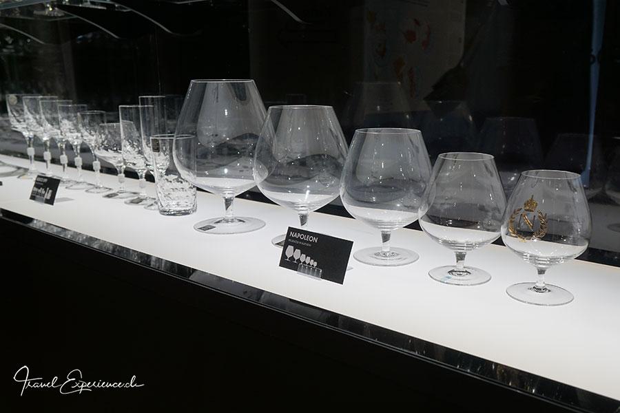 Glasausstellung, Riedel, Kufstein