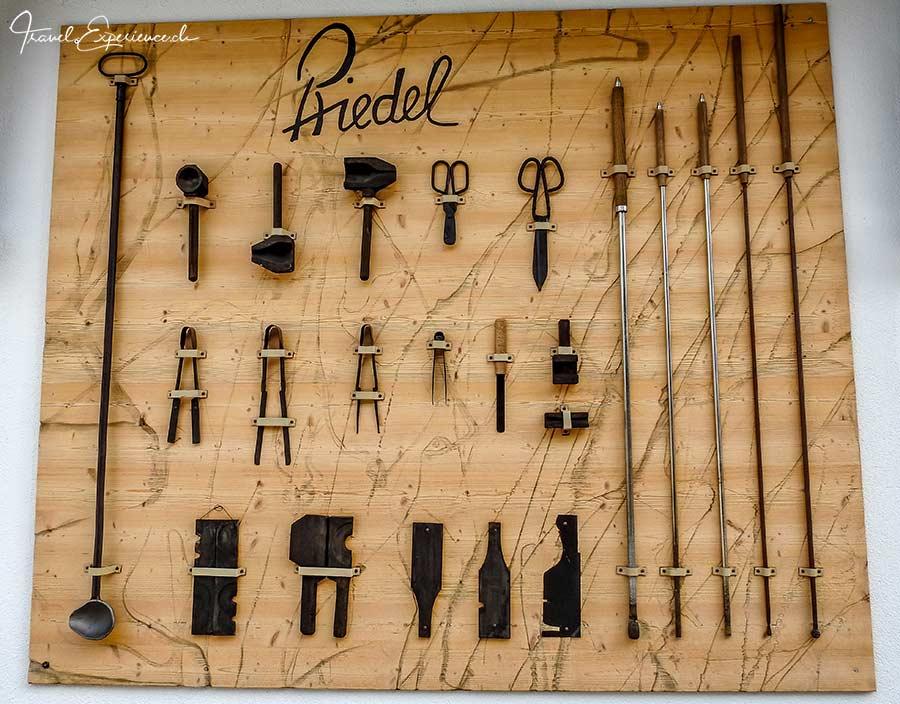Riedel, Kufstein, Werkzeug