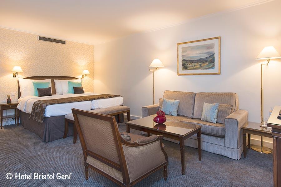 Hotel Bristol, Genf, Deluxe Zimmer, Copyright Hotel Bristol