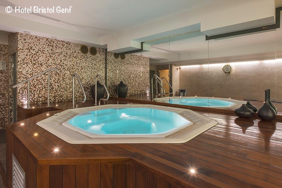 Hotel Bristol, Genf, Whirlpool, Copyright Hotel Bristol
